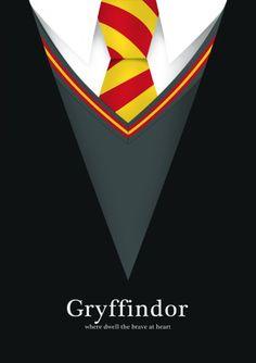 Gryffindor | Posters Minimalistas