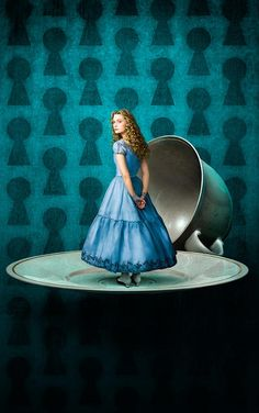 'Alice in Wonderland' ~ Photo by Annie Leibovitz More