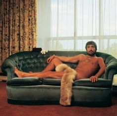 Keith Moon in the Royal Garden Hotel in London, 1976. at his most dignified best...