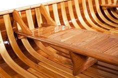 Canoe Seats, Kayaking, Canoeing, Wood Canoe, Dry Stone, Thatched Roof, Canoe And Kayak, Small Boats, Wooden Boats