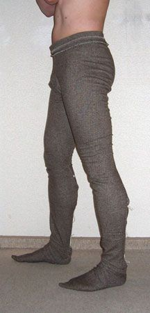 Thorsberg trousers replica Viking Pants, Viking Garb, Viking Reenactment, Viking Clothing, Renaissance Clothing, Clothing Items, Elizabethan Costume, Medieval Costume, Historical Costume