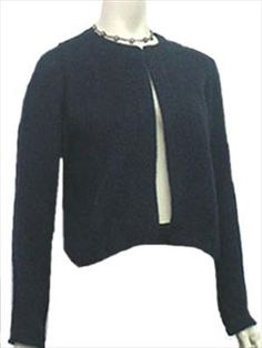 a little fun Ellen Tracy, How To Make, Sweaters, Jackets, Blue, Clothes, Design, Women, Style