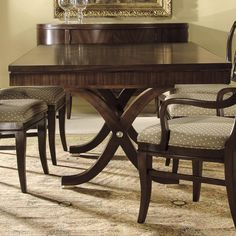 Hekman Metropolis Rectangular Dining Table - Zak's Fine Furniture - Dining Room Table Tri-Cities - Johnson City and Bristol Tennessee