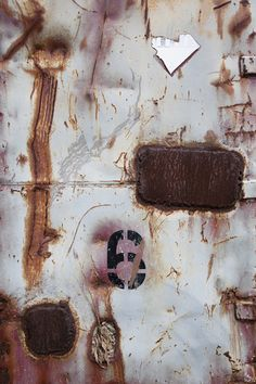 Charlie Ferguson sees the scrapes, scratches, rust and peeling paint on trash dumpsters as random artistic abstractions Peeling Paint, Contemporary Photography, Abstract Images, Art Boards, Decay, Alternative, Photographs, Spirit