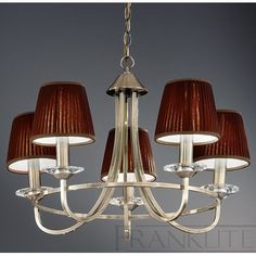 Franklite Carousel Five Light Pendant | Wayfair UK