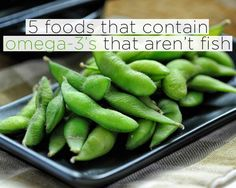 5 foods that contain Omega 3 that aren't fish. Healthy Fats, Healthy Choices, Healthy Life, Healthy Snacks, Healthy Eating, Clean Eating, Dha Foods, Protein Shakes, Omega 3 Foods