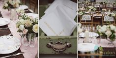 Love the table settings at this Lowndes Grove Plantation wedding. Flowers by @17z53608fdotohg and wedding coordination and design by @achasbride