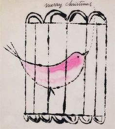 pinkpagodastudio: Andy Warhol Christmas