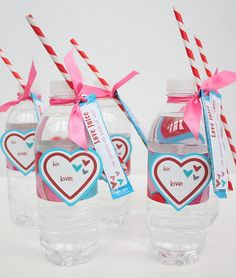 Cute for Valentines Day, it's love juice. Little packet has single serve drink mix in it like Hawaiian punch singles.