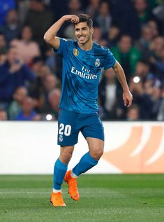 Marco Asensio Best Football Players, Soccer Players, Equipe Real Madrid, Real Madrid Players, Best Club, Isco, Men In Uniform, Cristiano Ronaldo, Cute Boys