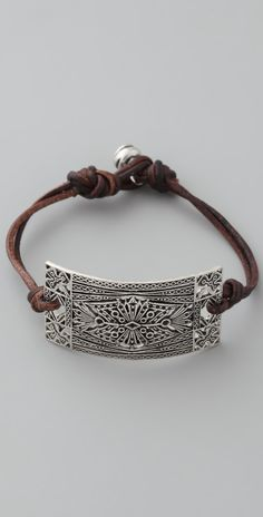 d41e87da5 Club Monaco Leather Rope Bracelet | SHOPBOP Clay Jewelry, Boho Jewelry,  Metal Jewelry,
