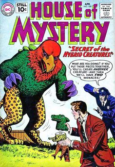 Pencil Ink: a blog featuring golden, silver and bronze age comic book art and artists: House of Mystery