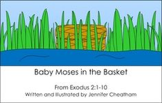 This is the story from Exodus 2 of how God kept Moses safe and made a way for his mom to raise him for a while and to have him grow up in Pharaoh's house. When reading this book, discuss how God. Devotions For Kids, Bible Lessons For Kids, Baby Moses, Promised Land, Sunday School Lessons, Follow Jesus, Lambs, Holidays And Events, Growing Up