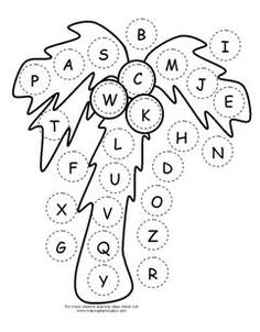 ABC Chicka Chicka Boom Boom Letter Assessment  activity available at www.makinglearningfun.com.