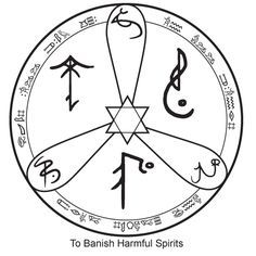 The Witches Collective: Sigil to Banish Bad Spirits