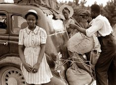 THE GIRL FROM SHAWBORO | BLACK HISTORY MONTH APPRECIATION — African American migrant workers from Florida on their way to harvest potatoes in Cranbury, New Jersey. The photograph was taken near...