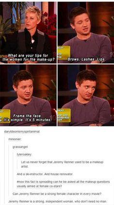 Jeremy is hilarious! Love him!