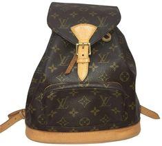 85e0ddcf58c1 Louis Vuitton Montsouris Pm Brown   Tan Leather Backpack - Tradesy  Authentic Louis Vuitton