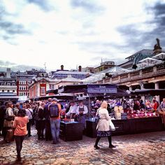 Covent Garden food market