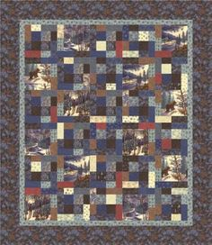 Town Square Fiddlestick Quilt Kit Holly Taylor By Moda