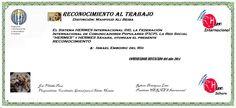 Reconocimientos 2014: Ismael Emboiric del Río  Distinción: Mahfoud Ali Beiba