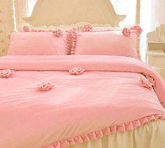 Pink Rose Floral Embellished Soft Princess by QueenAndCastle