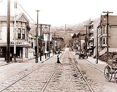 24th Street in Noe Valley, 1901
