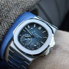 Cool Watches, Rolex Watches, Dream Watches, Expensive Watches, Versace Men, Telling Time, Burberry Men, Patek Philippe, Nautilus