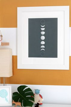 Free moon phase poster download | Squirrelly Minds