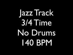 Jazz Jam No Drums Backing Track 3/4 140 BPM