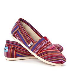 Love this Red Stripe Classics by TOMS on #zulily! #zulilyfinds