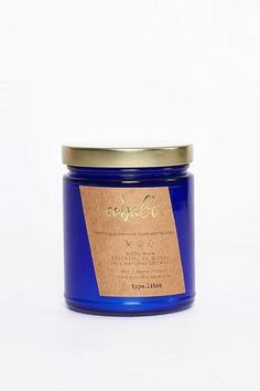 Cobalt 8oz Wood Wick Soy Candle - More Scents - Young & Able - 1