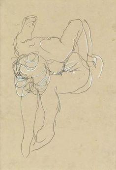 Esboço de Auguste Rodin