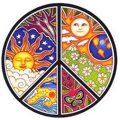 Peace sign via Facebook.com/peaceflash