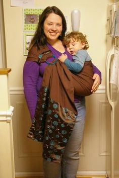 Ring sling tutorial for Sewing ring slings- Seriously how awesome would this be when the kiddo falls asleep in the car!