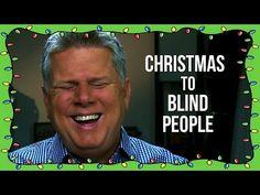 Describing Christmas As A Blind Person - YouTube