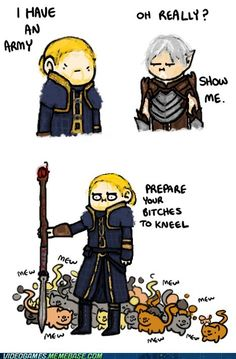 Anders wins this Time  Dragon Age  Fenris
