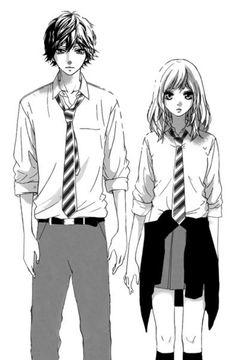 Image in Ao Haru Ride or Blue Spring Ride collection by Cantika Baihaqi Manga Anime, Anime Art, Futaba Y Kou, Blue Springs Ride, Ao Haru, Anime Galaxy, Manga Couple, Shoujo, Anime Love