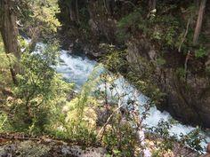 Chubut, Cascada del Lago Cisne