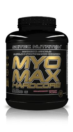 SCITEC MYOMAX HARDCORE - Muscle Gain & Performance (3080 grams) – DXHIVE Vanity MyoMax Hardcore is our latest formula designed to provide you with all the ingredients we deemed worthy. MyoMax is a hardcore anabolic muscle mass and high-intensity physical performance enhancer.MyoMax Hardcore has a number of additional scientifically proven active ingredients! #dxhivevanity#scitec#nutrition#gym#tyrosine#worcout#popular#hardcore#bodybilder#anabolic#muscleenhanser