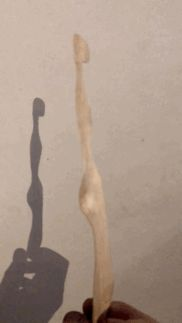 First animated GIF of carved wood figure First Animation, Artist At Work, Wood Carving, Animated Gif, Female, Painting, Sculptures, Figurine, Painting Art
