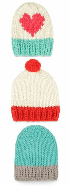 Cute Knitted Hats <3