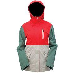 Ride Magnolia Shell Snowboard Jacket - Women's: Melon