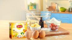 Fondants Deliciosos | Receita Lipton | #BeMoreTea | #MomentosLipton