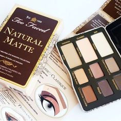 Flaunt your matte-ural beauty! Too Faced bestselling Natural Eyes Collection is now reinvented with all matte shades!  #toofaced