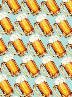 «Beer Pattern» de Kelly  Gilleran