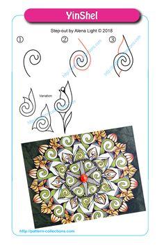 Tangle Doodle, Tangle Art, Zen Doodle, Doodle Art, Zentangle Drawings, Doodles Zentangles, Doodle Drawings, Doodle Patterns, Zentangle Patterns