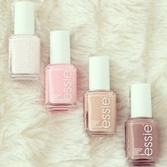 Essie summer colors palette nail polish.