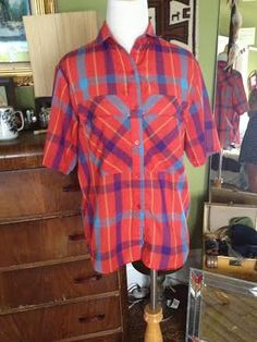 A personal favorite from my Etsy shop https://www.etsy.com/listing/194139216/1980s-vintage-vibrant-colorful-plaid
