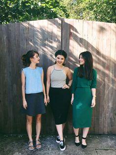 Irmãs Alcântara, Débora Alcântara, Júlia Alcântara, Bárbara Alcântara, look minimalista, preto e branco, inspiração, fashion inspiration